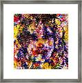 Joyful Clown Framed Print