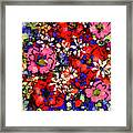 Joyful Flowers Framed Print