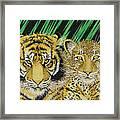 Jungle Cats Framed Print