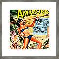 Jungle Movie Poster 1957 Framed Print