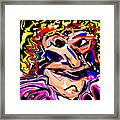 Just Another Pretty Face Framed Print