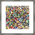 Just Beads Framed Print