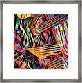 kaleido Calligraph 10x11m3n27m5aa Framed Print