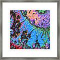 kaleido fa-GoldenBridge12b2 Framed Print