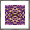 Kaleidoscope 1004 Framed Print