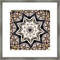 Kaleidoscope 110 Framed Print
