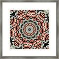 Kaleidoscope 127 Framed Print