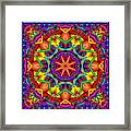 Kaleidoscope 2 Framed Print