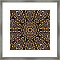 Kaleidoscope 25 Framed Print