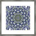 Kaleidoscope 706 Framed Print