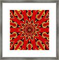 Kaleidoscope 89 Framed Print
