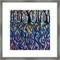 Kaleidoscope Forest Framed Print