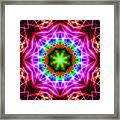 Kaleidoscope I Framed Print by Kenneth Krolikowski