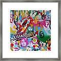 Kiss The Rainbow Framed Print
