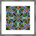 Knots Xviii Framed Print by Kenneth Hadlock