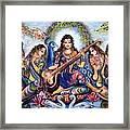 krishna - Kirtan  Framed Print