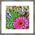 La Flor De La Castellana Framed Print