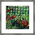 La Jungla #1 Framed Print