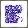 Lady Violet Framed Print
