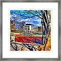 Lake Kittamaqundi Walkway Framed Print