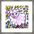 Lambie Framed Print