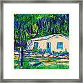 Las Casas De Nuestros Vecinos  Framed Print