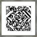 Learn To A Maze Book Cover 1 Framed Print
