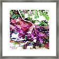 Leave In Autumn Framed Print