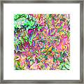 Leaves And Colors Framed Print