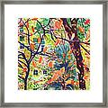 Leaves In Nyc Framed Print
