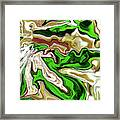 Leaves  Framed Print by Molly McPherson