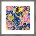 Leaves Of Flurry 1 Framed Print