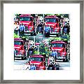 Leeds Fire Dept. 1 Framed Print