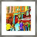 Lets Meet For Lunch Framed Print