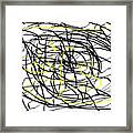 Life. White And Black Life Period But Sunlight Forever. Framed Print