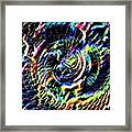 Lightening Fills The Vortex Framed Print