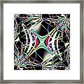 Lighting Supply Fractal Framed Print