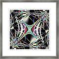 Lighting Supply Fractal Framed Print