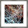 Lightpainting Single Wall Art Print Photograph 9 Framed Print