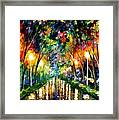Lights Of Hope Framed Print