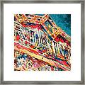 Lights Out At The Rialto Framed Print