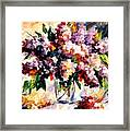 Lilac - Morning Mood Framed Print
