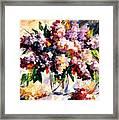 Lilac - Morning Mood Framed Print