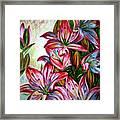 Lilies Framed Print