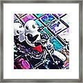 Little Glass Pandas 45 Framed Print