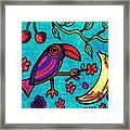 Little Toucan Framed Print