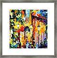 Living Town Framed Print