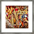 Lobster Up Close Framed Print