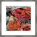 Lobstering Lines Framed Print