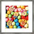 Lolly Shop Pops Framed Print